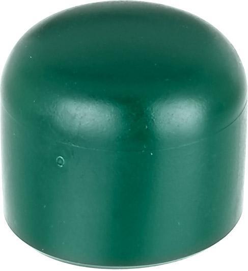 Alberts Pfostenkappen Kunststoff grün 34 mm