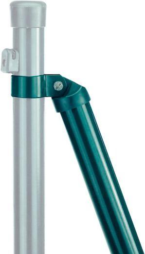 Strebenschellen verz. grün-besch. 48 mm