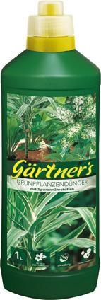 Grünpflanzendünger mit Spurenelemente, 1 l