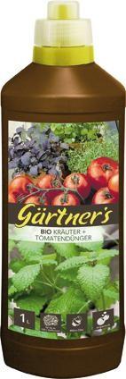 Bio Dünger für Kräuter + Tomaten, 1 l