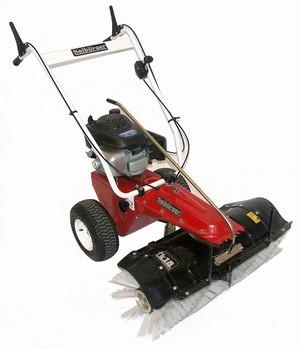 Kehrmaschine Tielbürger TK18 Honda Motor Schneeräumer