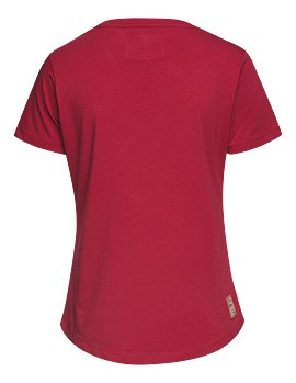 STIHL T-Shirt FIR FOREST Damen rot, Gr. XL