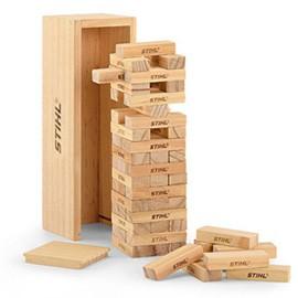 Holzstapelturm