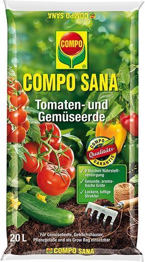 Tomaten- u. Gemüseerde 20 l COMPO SANA